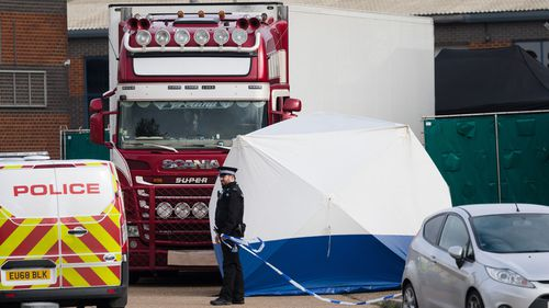 New arrest over UK migrant truck deaths 2