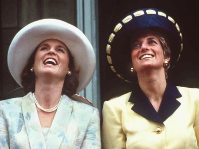 Trooping the Colour Diana and Fergie