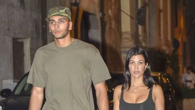 Another day, another Kardashian wears their underwear to dinner