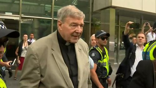 George Pell live: Cardinal arrives at Supreme Court of Victoria