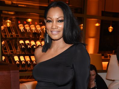 Garcelle Beauvais at a post-Golden Globe Awards party in 2018.