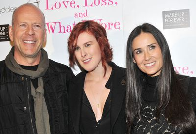 It must be quite annoying having parents and ex-step parents like Demi, Bruce and Ashton Kucher, all of whom rate (or rated) pretty highly in the hotness stakes. Model/singer/actress Rumer Willis has sensibly avoided her mother's ultra-glam image in favour of a hipster, indie-chick look, but that hasn't stopped plenty of rumours (Rumers?) alleging she's resorted to plastic surgery. According to the Hollywood whispers, Rumer has followed her famously-facelifted mum under the knife, opting for a chin reduction and nose job.