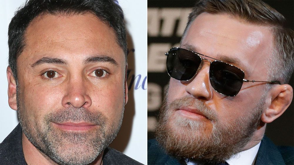 "Oscar De La Hoya calls out Conor McGregor, says he'll knock him out ""in two rounds"""
