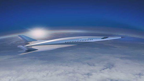 Boeing rendering hypersonic jet