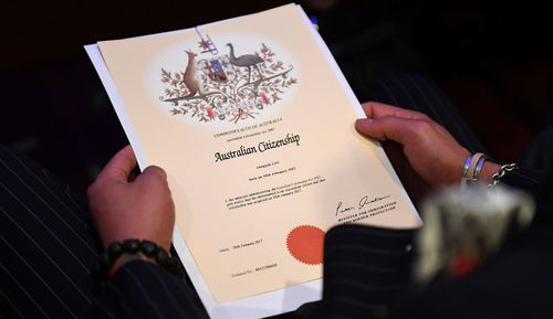 Today also marks 70 years since the introduction of Australian citizenship into law. Before then, there was no legal status as an Australian citizen.