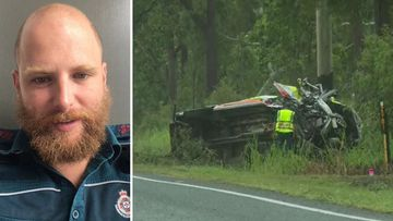Queensland Mackay paramedic death ambulance crash Craig McCulloch