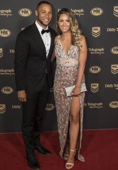 Moses and Madeleine Mbye at the 2019 Dally M Medal