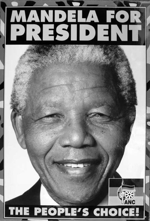 Mandela vowed to serve only one term as president.