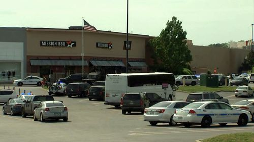 Police responded to reports of a shooting at Opry Mills Mall in Nashville. (9NEWS)