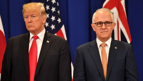 Mr Trump and Mr Turnbull have met on the sideline of international events since Mr Trump's inauguration. (AAP)