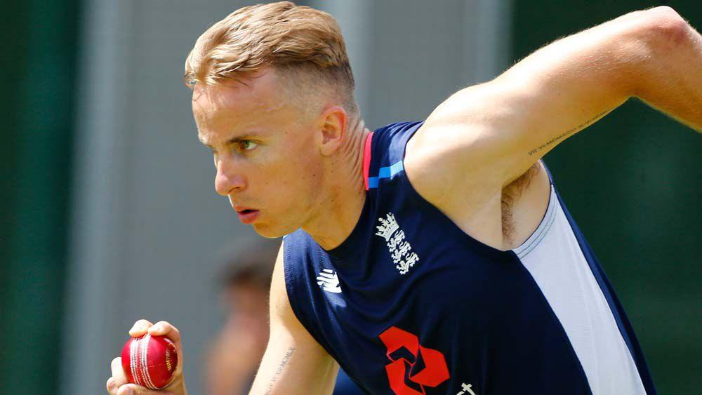 England debutant Tom Curran