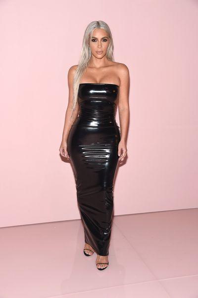 Kim Kardashian at Tom Ford, ready-to-wear, spring '18, New York Fashion Week