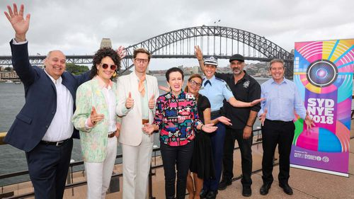 Announcing the preparations being made for the event today, Clover Moore said Sydney's highl -anticipated fireworks display will be the biggest yet.