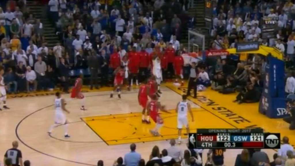 Warriors go down in NBA opener