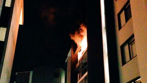 Residents evacuated after explosion tears through Sydney apartment