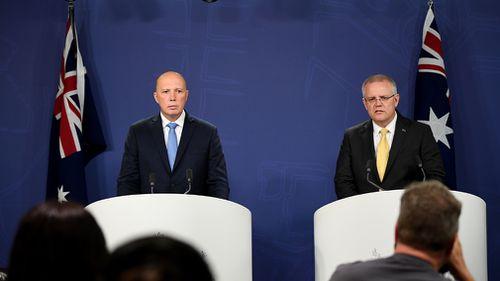 Peter Dutton Scott Morrison John Howard immigration intake policy