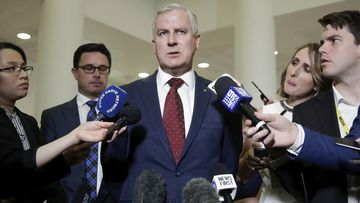 Michael McCormack has been re-elected as leader of the Nationals and deputy prime minister.