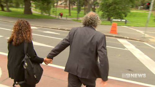The pair denied any wrongdoing outside court.