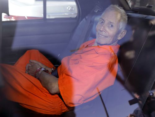 Robert Durst is transported from Orleans Parish Criminal District Court to the Orleans Parish Prison after his arraignment in New Orleans,  2015