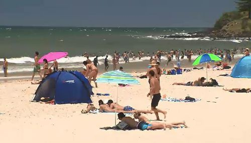 Sydney could be set to experiences its warmest January on record. (9NEWS)