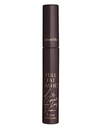 "<a href=""http://www.charlottetilbury.com/au/full-fat-lashes-glossy-black.html"" target=""_blank"" draggable=""false"">Charlotte Tilbury Full Fat Lashes Glossy Black Mascara, $48</a>"