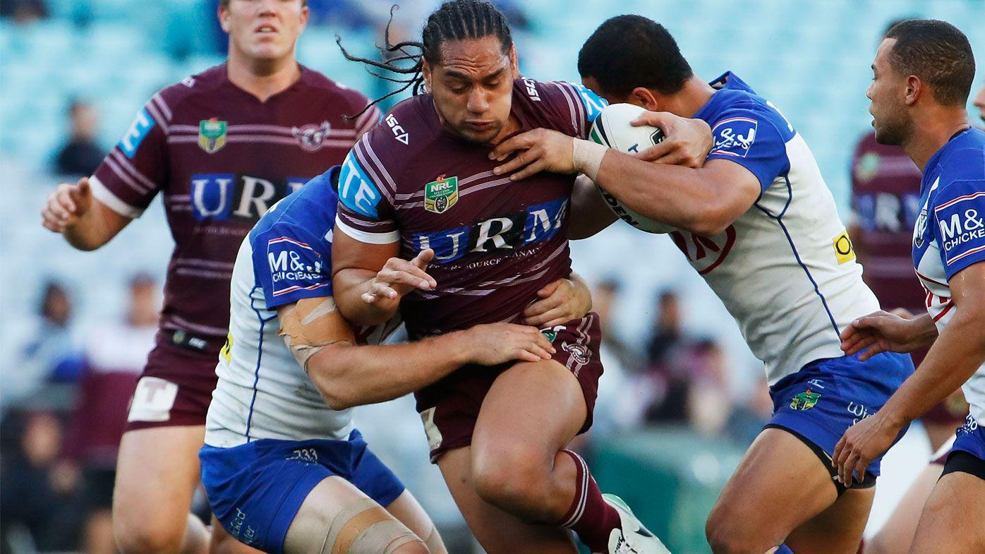 NRL: Manly Sea Eagles hopeful for jet-lagged Martin Taupau
