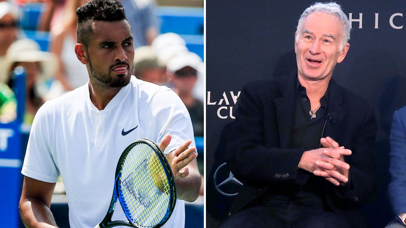 Tennis: John McEnroe says Nick Kyrgios will raise his game against the best