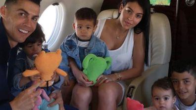 Cristiano Ronaldo's family.
