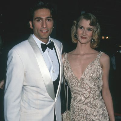 Laura Dern (photographed with Vincent Spano)