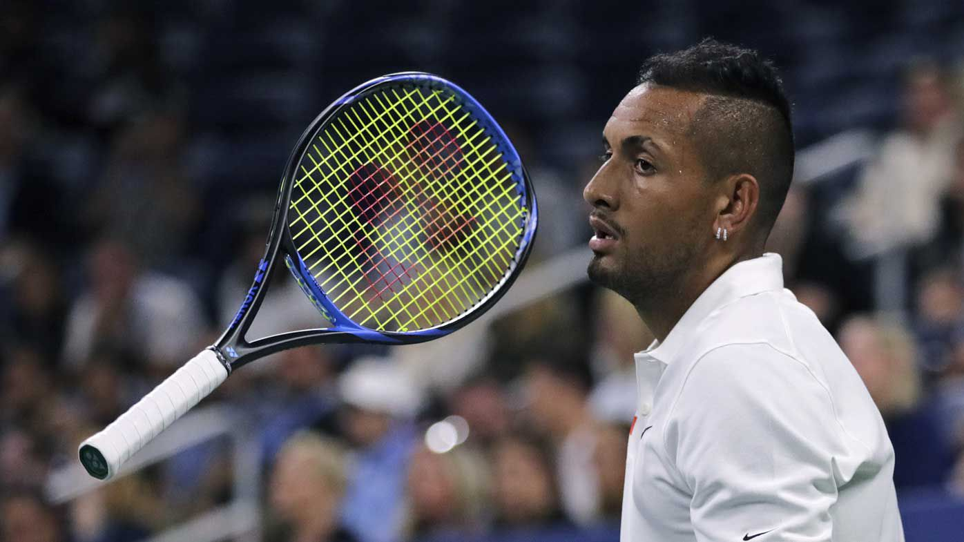 Nick Kyrgios at the US Open.
