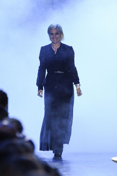 <p>Maria Grazia Chiuri at Dior, autumn/winter '17.</p> <p><strong>The look:</strong>&nbsp;Stevie Nicks video clip.</p>
