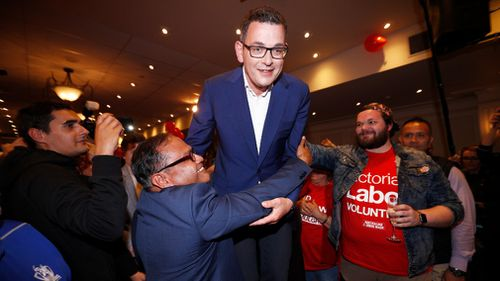 Daniel Andrews has enjoyed an epic victory.