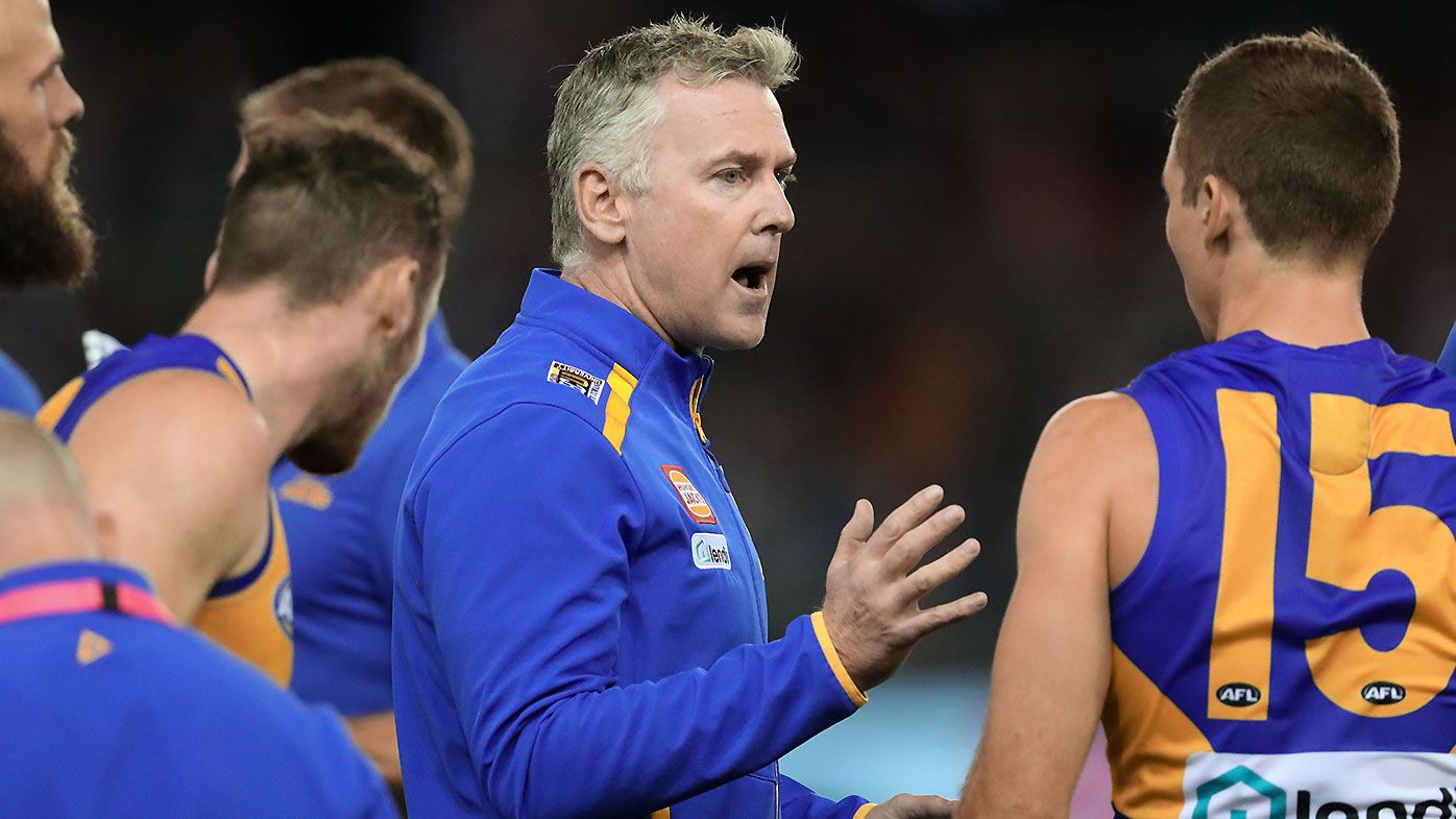 'It is just hearsay': West Coast Eagles stars laugh off suggestions of Adam Simpson coaching Kangaroos