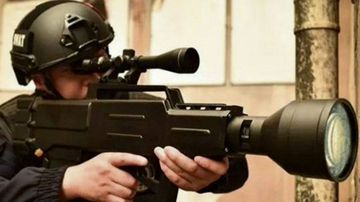 China builds 'laser' assault rifle