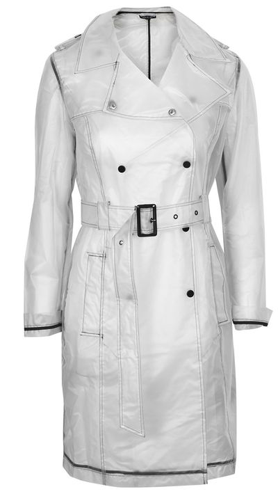 "<a href=""http://www.topshop.com/en/tsuk/product/clothing-427/jackets-coats-2390889/misty-plastic-trench-coat-4226744?bi=1&ps=20""> Misty Plastic Trench Coat, $104 approx, Topshop</a>"