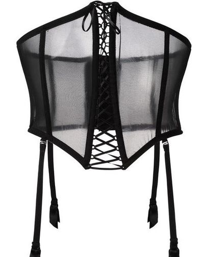 "Folies By Renaud mesh corset $131.18 at <a href=""https://www.farfetch.com/au/shopping/women/folies-by-renaud-mesh-corset--item-11705681.aspx?storeid=10290&from=listing&tglmdl=1&ffref=lp_pic_32_2_"" target=""_blank"" draggable=""false"">Farfetch</a><br />"