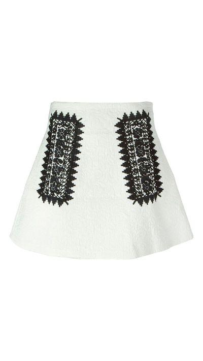 "<a href=""http://www.farfetch.com/au/shopping/women/giamba-jacquard-embroidered-a-line-skirt-item-11013563.aspx?storeid=9274&amp;ffref=lp_303_14_"" target=""_blank"">Jacquard Embroidered A-Line Skirt, $694, Giamba</a>"