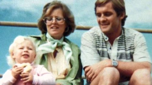 Photo of Chris and his wife Lynette Dawson, who has been missing since 1982.