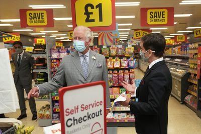 Prince Charles visits Wales, July 2021
