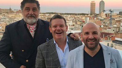 MasterChef judges George Calombaris, Matt Preston and Gary Mehigan exit show