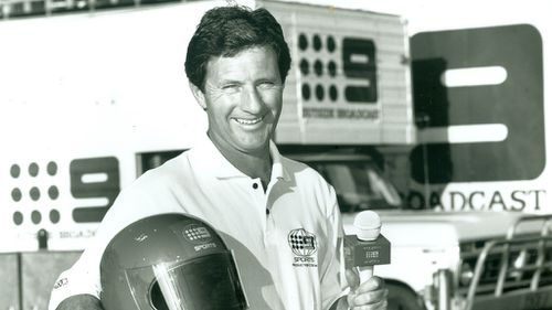 Sutcliffe joined Channel 9 in 1979. (Nine Network)
