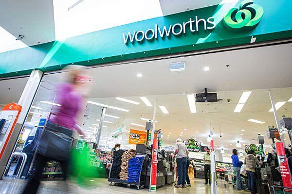 Woolies trolley