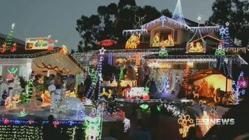 Aussie homeowners warned of house fire risk from Christmas lights