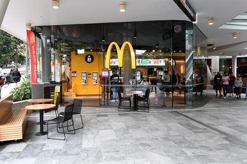 Southbank McDonalds
