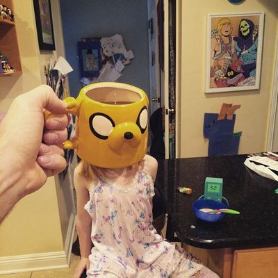 Breakfast time is Adventure Time! (Instagram)