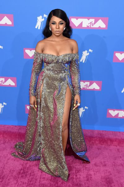 Ashanti at the 2018 MTV Video Music Awards