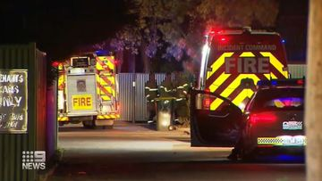 Fireworks blow a hole in fence in South Australia