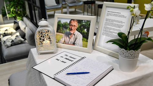 """""""He will be much missed and warmly remembered by his family and IKEA staff all around the world"""". (AAP)"""