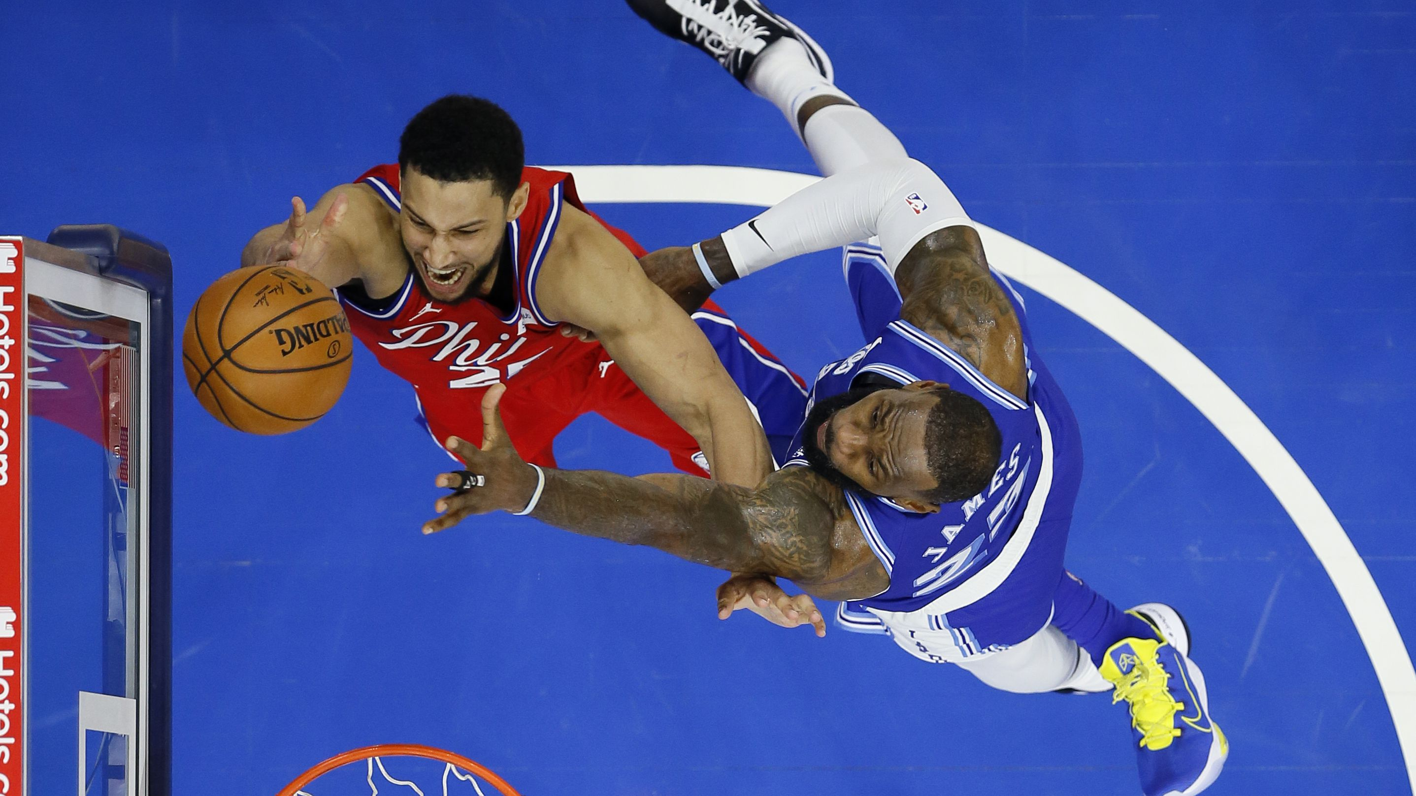 Ben Simmons records another triple double as the 76ers upset LeBron James' Lakers