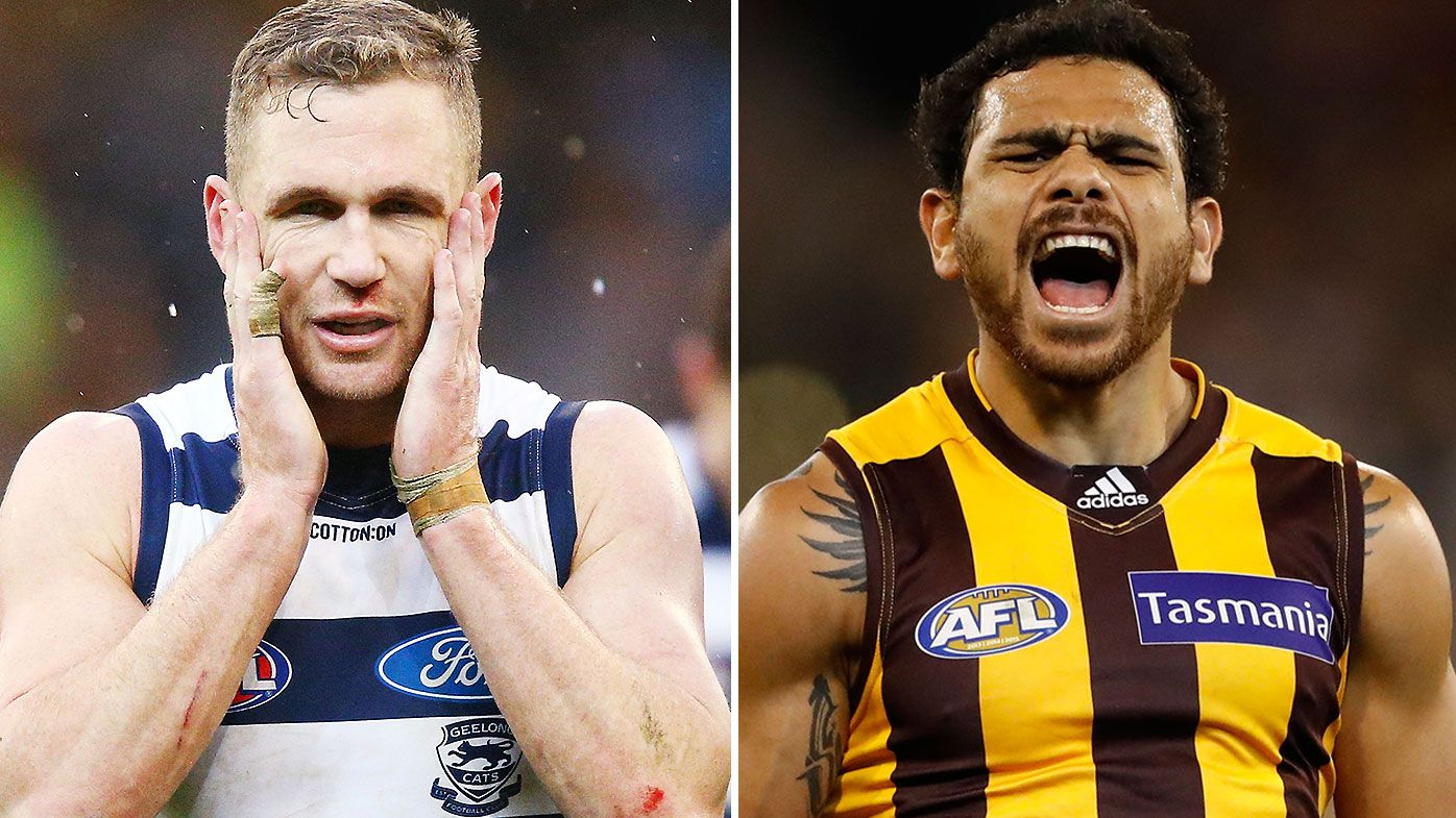 Joel Selwood Cyril Rioli